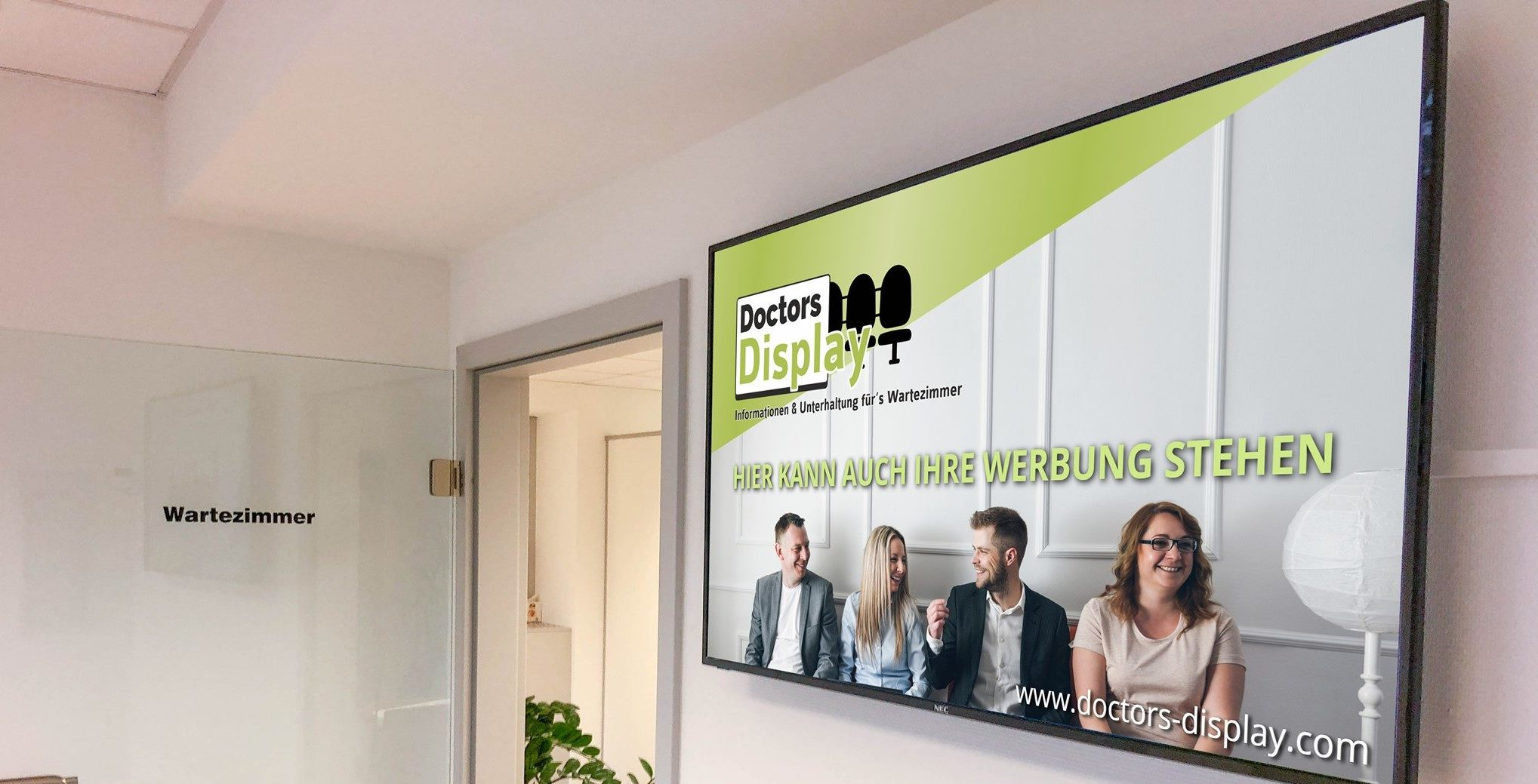 Doctors Display - Wartezimmer - Display - Werbung