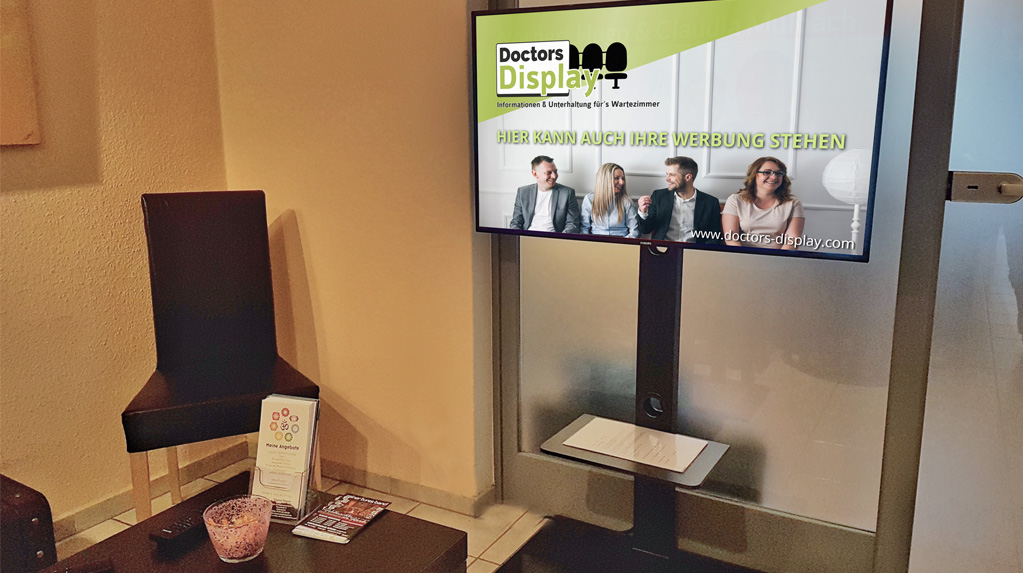 Doctors Display Eifel Werbung